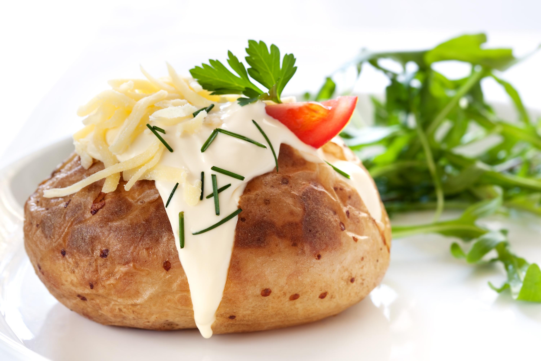 Hot Jacket Potato